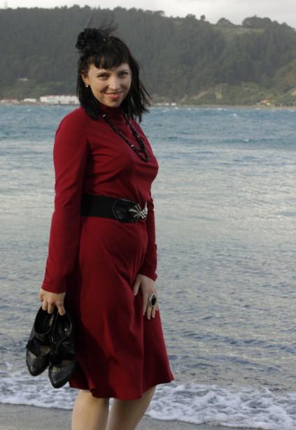 All photos courtesy Sarah, of course. Taken at the beach at Balaena Bay. I love the Wellington coast!